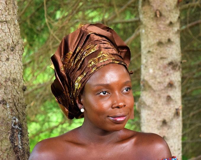 Traditional Head Wear African Women Head Wraps Wedding Head ties Beautiful Women Head Wraps.