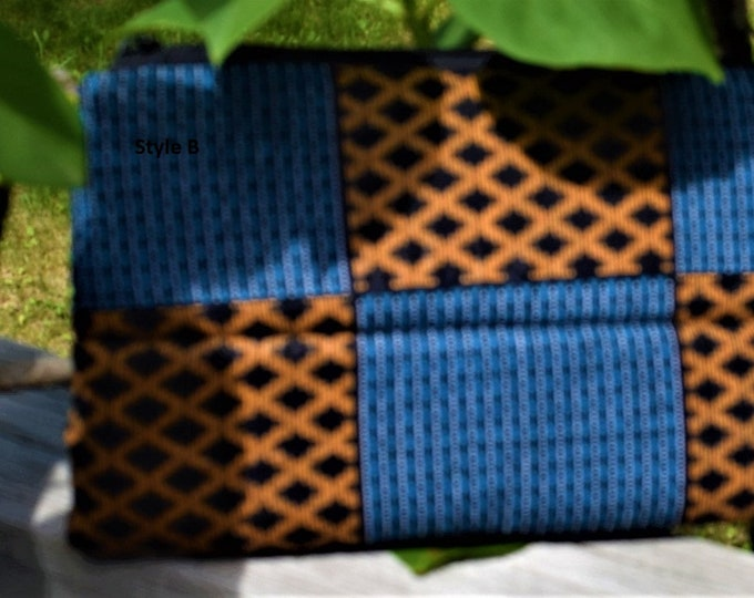 Make Up Bag Handmade quilted clutch purse