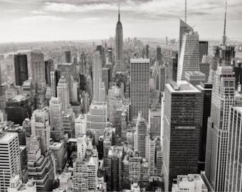 New York Poster, City skyline, New York Print, New York prints,  New York, Wall art, New york city print, Manhattan, New York canvas