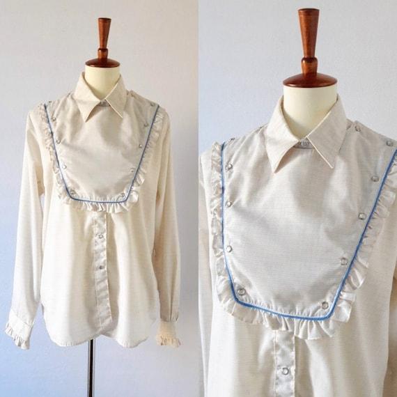Vintage Women's Western Snap-up Shirt / Rockmount