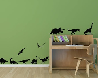 DINOSAUR WALL DECAL  Dinosaur Wall Art Kids Room Wall Decal  Dinosaur  Stickers