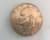 1974 D Eisenhower Dollar Copper Nickel (CU-NI) Uncirculated MS66