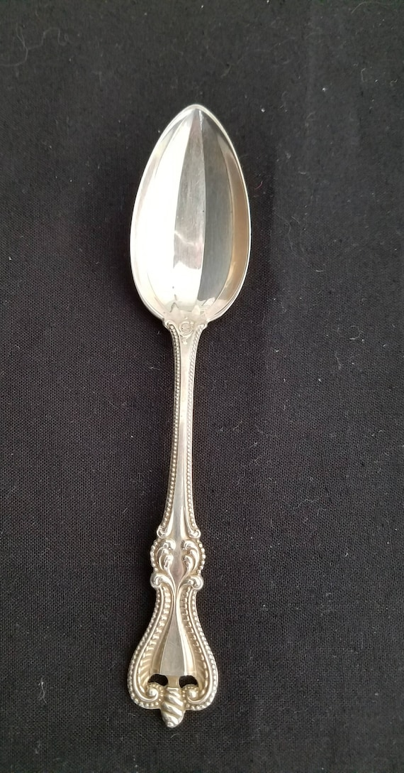 Old Colonial by Towle Sterling Silver Teaspoon Souvenir Detroit 5 58