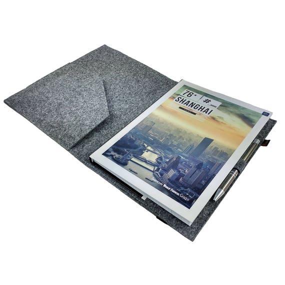 Din B5 Folder Rysunek Wiązania Okładka Książki Notebook Okładka Do Kalendarza Notes School Książeczka Filzhülle Z Karty Kieszenie Trening Filc