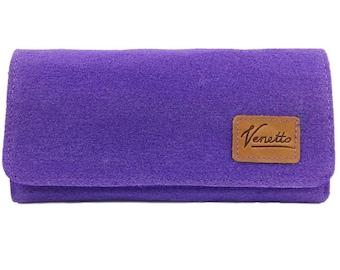 Venetto Wallet Wallet Purse wallet Purple