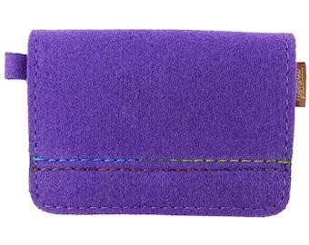 Bag felt wallet wallet Purple