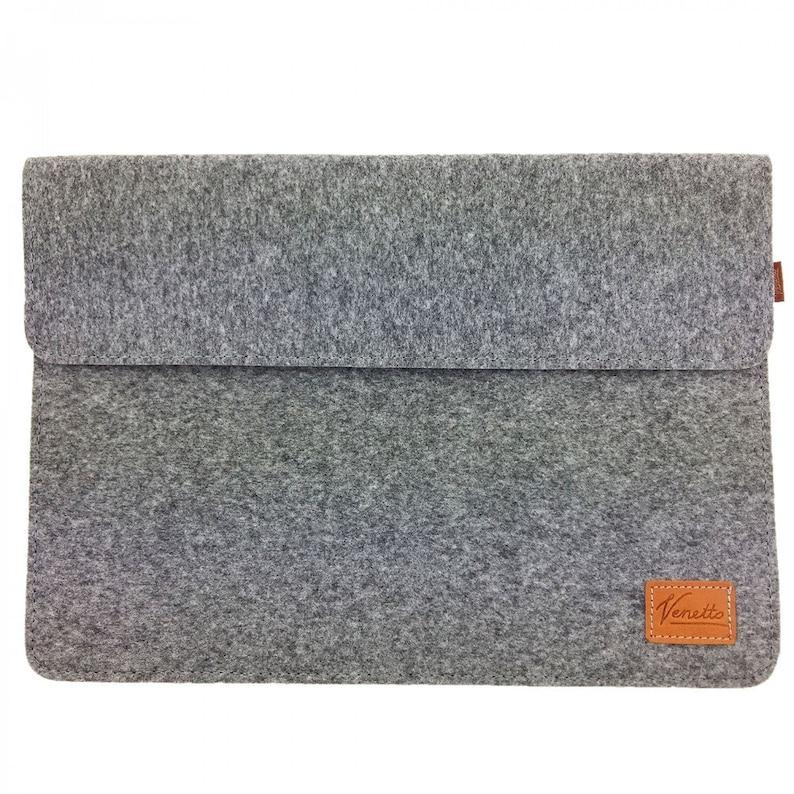 14-15.6 case sleeve felt bag for laptop notebook PC grey