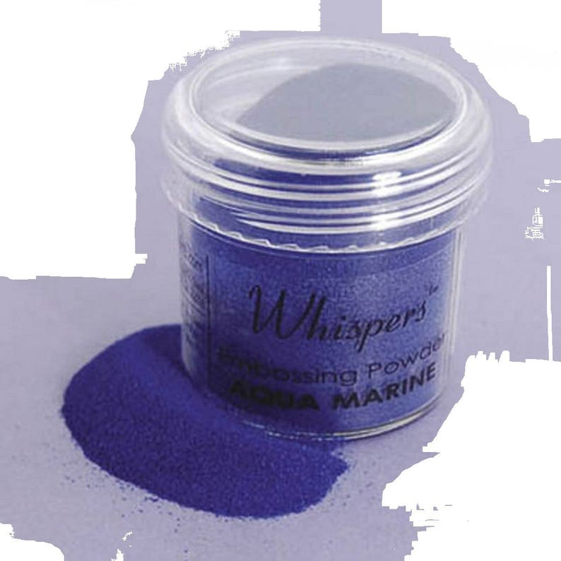 2 Ounces Blue Embossing Powder