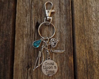 Once Upon a Time Inspired Keychain