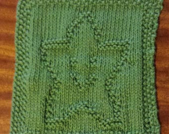 Face washer or Dish cloth Happy Star