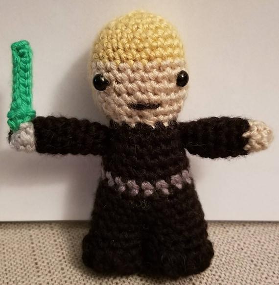 Luke Skywalker Star Wars Häkeln Figur