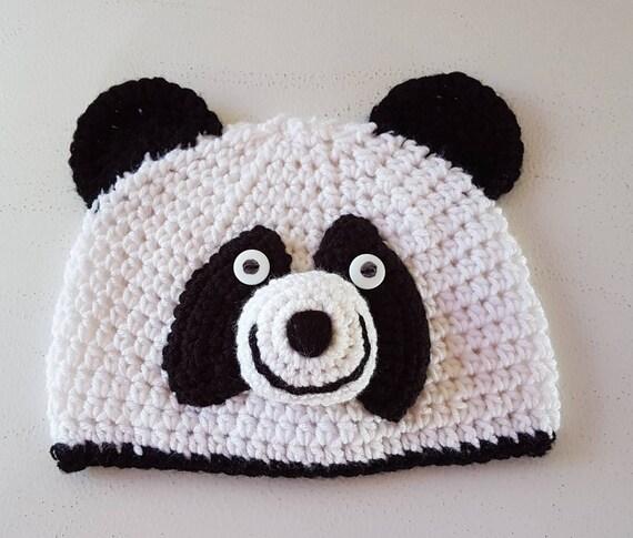 Gorro de oso panda  7e4d5f1e4eb
