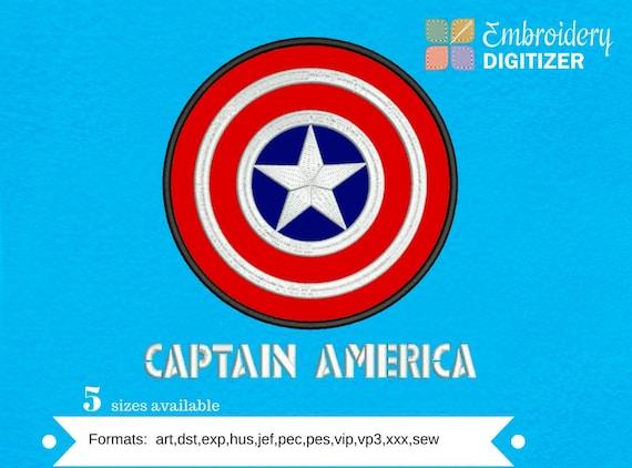 Captain America Shield Logo in BLACK on BLACK Baseball Hat Cap OSFA  or FlexFit