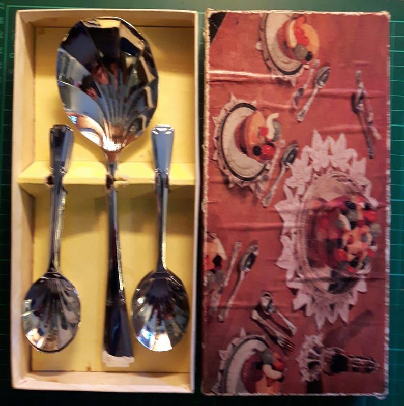 Chromium Plated Fruit Set Like new in Presentation Box