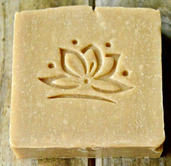 Lotus soap stamp acrylic soap stamp Handmade soap stamp
