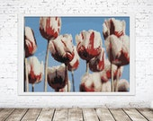 Peyote Tapestry Painting Seed Bead | PDF Pattern | Seed Bead pattern Tulips  | Do It Yourself