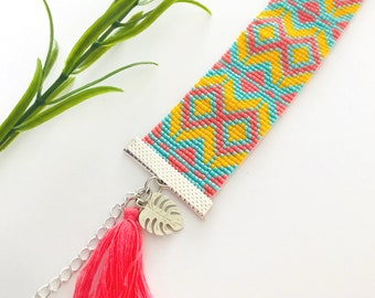 Miyuki Delica Summer Time handmade bracelet pick your own colors