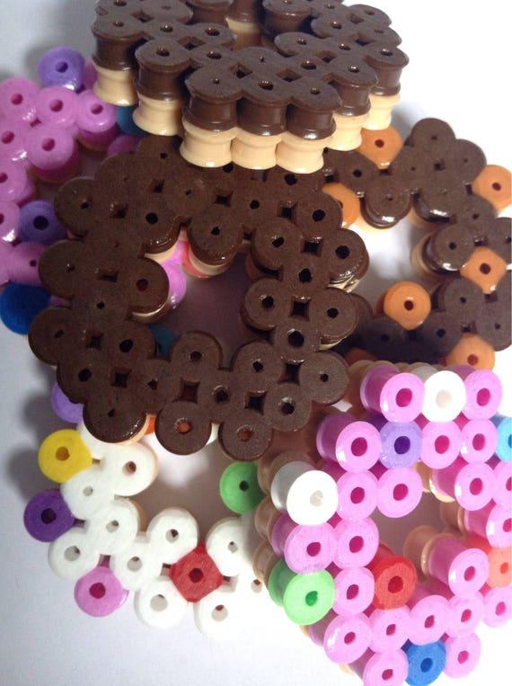 Doughnut Pixel Art Sweets Desert Food Snacks Kawaii 3D