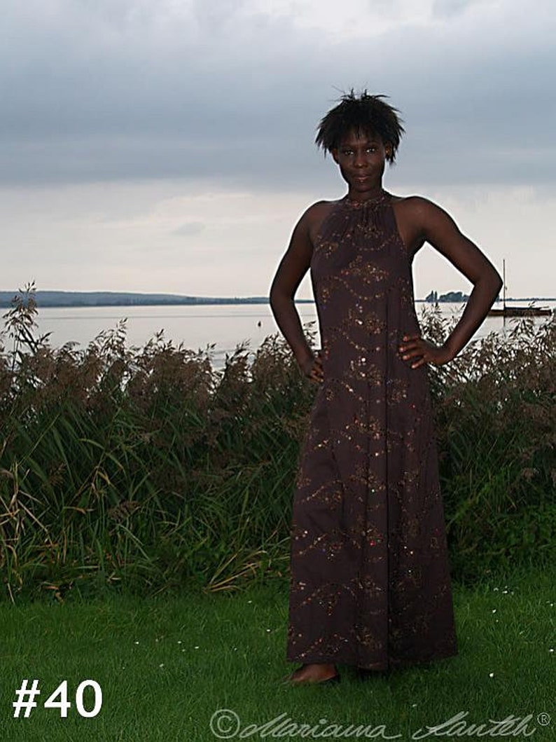 Coumba floor-length dress  inspired by Africa image 0
