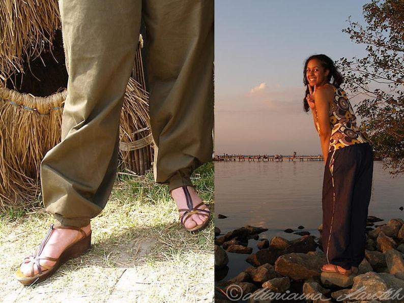 Le pantalon de Nguenar Pluder/harem pants  inspired by image 0