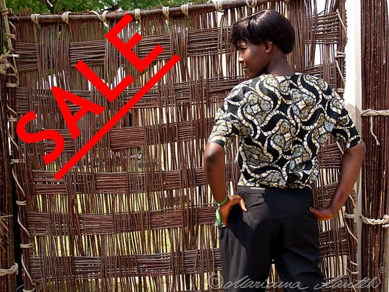 Njugup bat  blouse inspired by Africa image 0