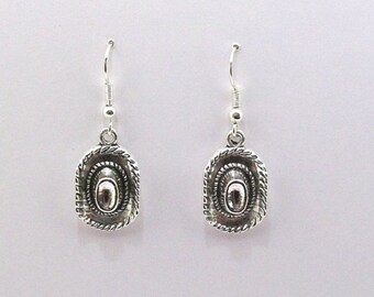 Earrings, western, country, cowboy hats country dance, cowgirl
