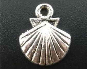 17x11 mm lot 5 Butterfly charm pendant charm silver metal