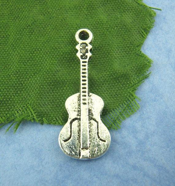 26x10 mm Pearl heart charm lot 5 silver metal silver rhinestones