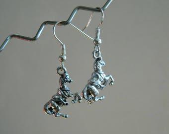 Schleife Ohr Pferd Metall