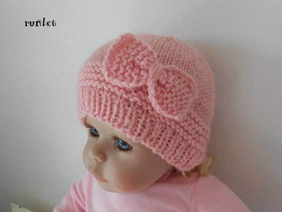 62cfe06fe180 bonnet naissance rose,bonnet bébé laine noeud bonnet bebe fille bonnet  nouveau né,bonnet bébé cadeau bébé fille bonnet bébé tricot