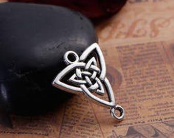 set of 5 charm/pendant knot Celtic 24X20mm