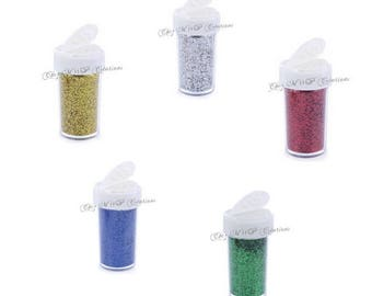 Quick fine glitter - 20grams pot (many colors available)