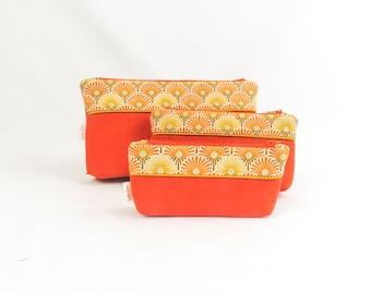 """Small cosmetic case """"Orange"""""""