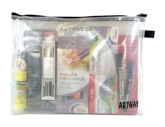Strong Plastic Wallet Artway S-Tuff Bags for Arts /& Crafts Essentials Case