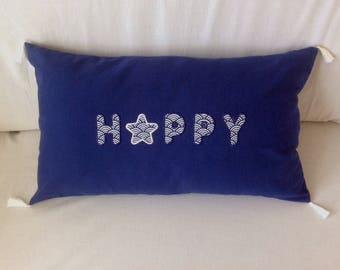 HAPPY 181 rectangle Cushion cover