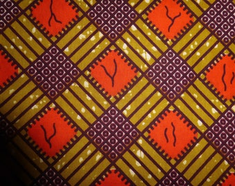 "6-088 - WAX ""SOUCLE KPE"" from Burkina Faso"