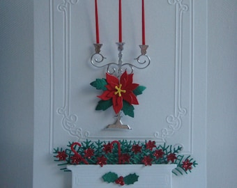 Christmas card Kit candlestick to make you even