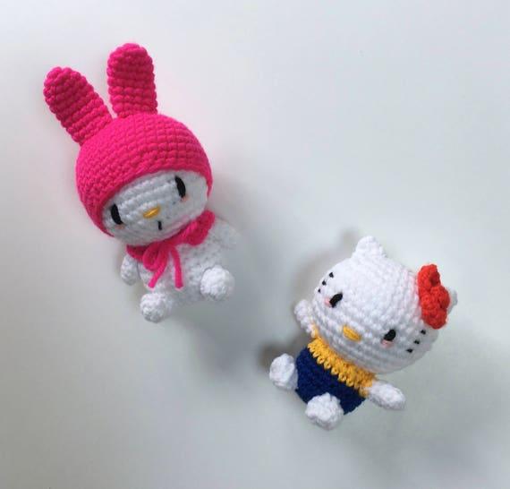 Tutorial amigurumi Hello Kitty - Cuerpo (mod-2) - YouTube | 546x570
