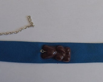 Teddy bear chocolate Marshmallow bracelet