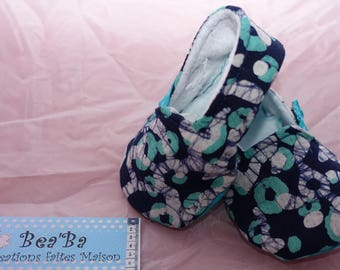 Mixed model fabric baby shoes