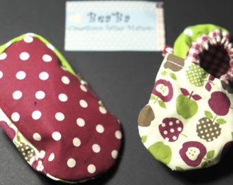 Mixed model Pom fabric baby shoes
