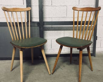Custom Baumann chairs