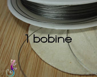 1 reel of wire 0.45 mm steel cable
