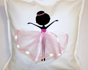 Pink | Ballerina | Cushion | Ballerina | Ballet Dancer | Decor Kids | Handmade Gifts | Ballet Dancer
