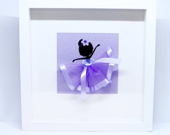 Personalised | Ballerina | Shadow Box | Handmade | Maggie Makes | Frame | Picture | Gifts |