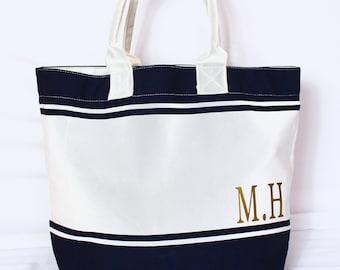Beach Bag | Personalised Beach Tote | Tote Bag | Large Bag | Bag For Life | Maggie Makes | Travel Bag | Holiday Bag | Weekend Bag |