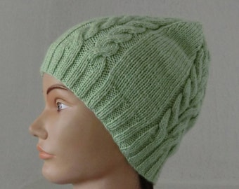 Handknitted Beret Beanie 3-6mths Baby Accessories Clothing, Shoes & Accessories