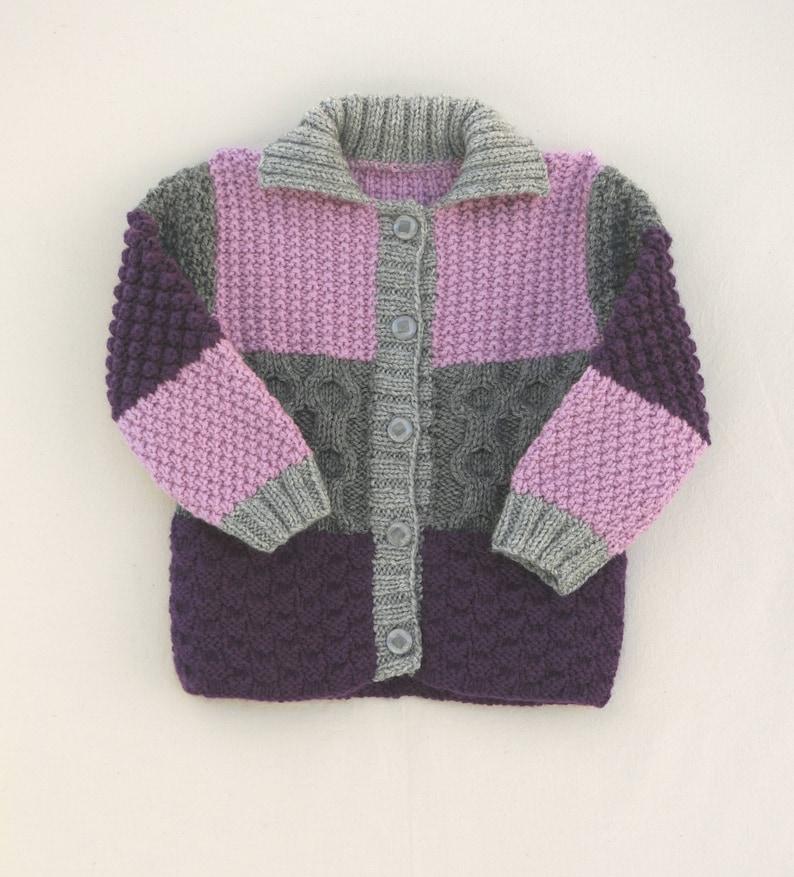 f6799411cda3 Jacket vest size 4t coat child daughter in wool hand
