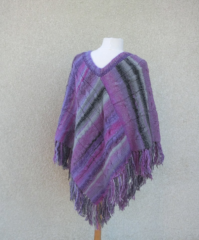 Size 36 to 44 Clothing Irish Twisted Tricot Autumn Hand Knit Mitaines Winter Wool Set Woman Poncho Bonnet