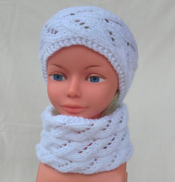 Snood Tour de cou Écharpe tube Taille 3 4 5 ans Enfant   Etsy 0b4d5062d6d